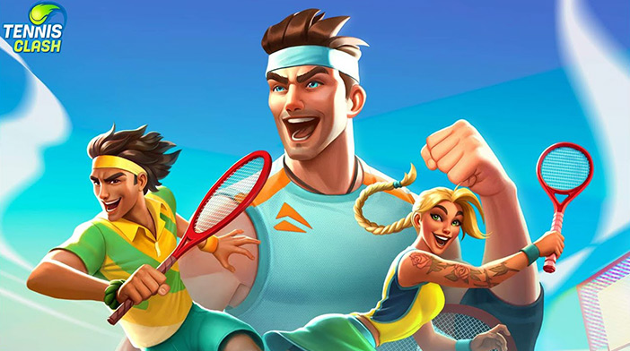 Tennis Clash 3D Sports MOD APK