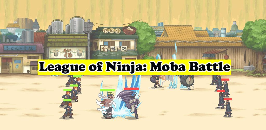 League of Ninja: Moba Battle