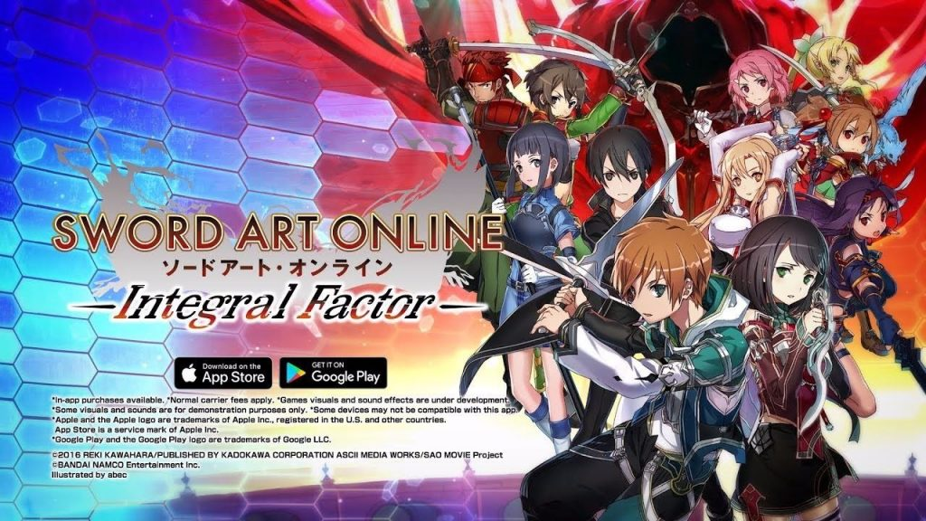Sword Art Online Integral Factor MOD APK