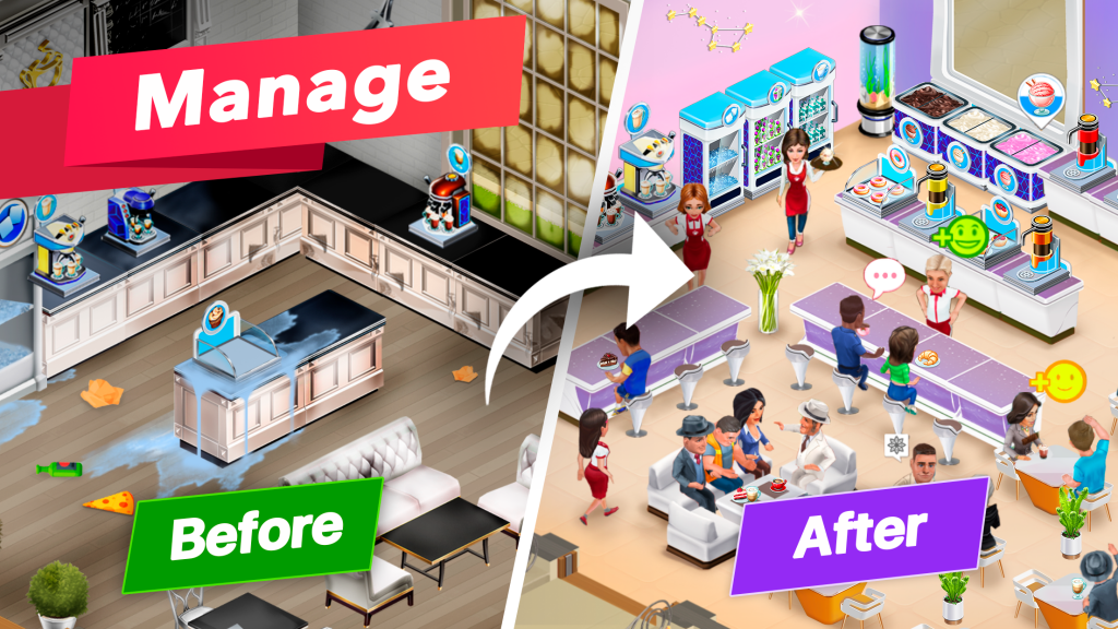 My Cafe - Recipes & Stories MOD APK