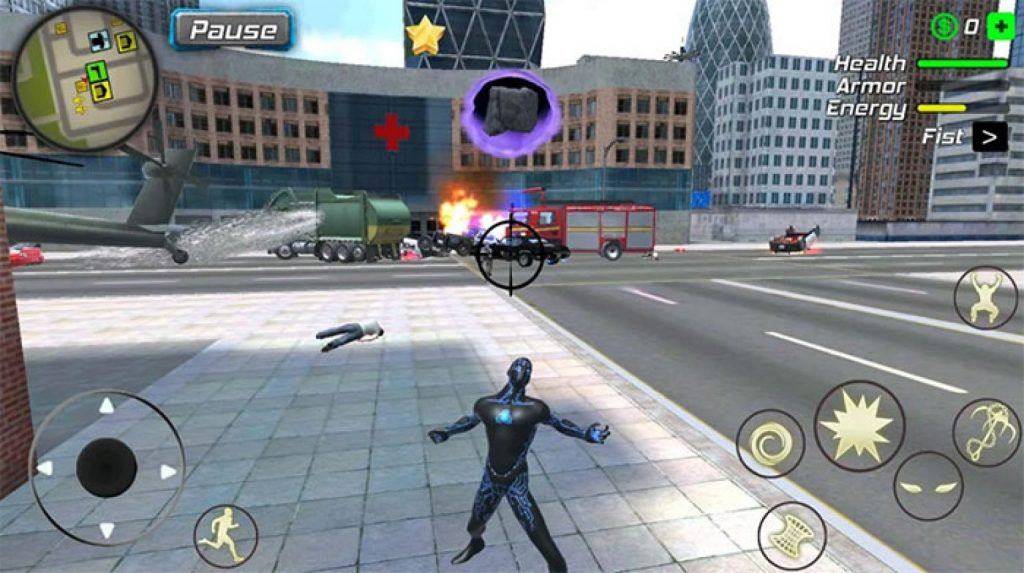 Black Hole Hero Rope Vice Vegas Mafia mod apk
